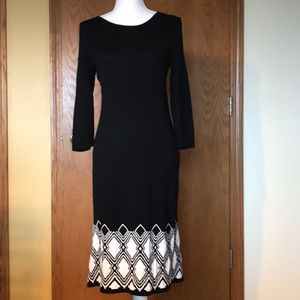 Misses knit dress